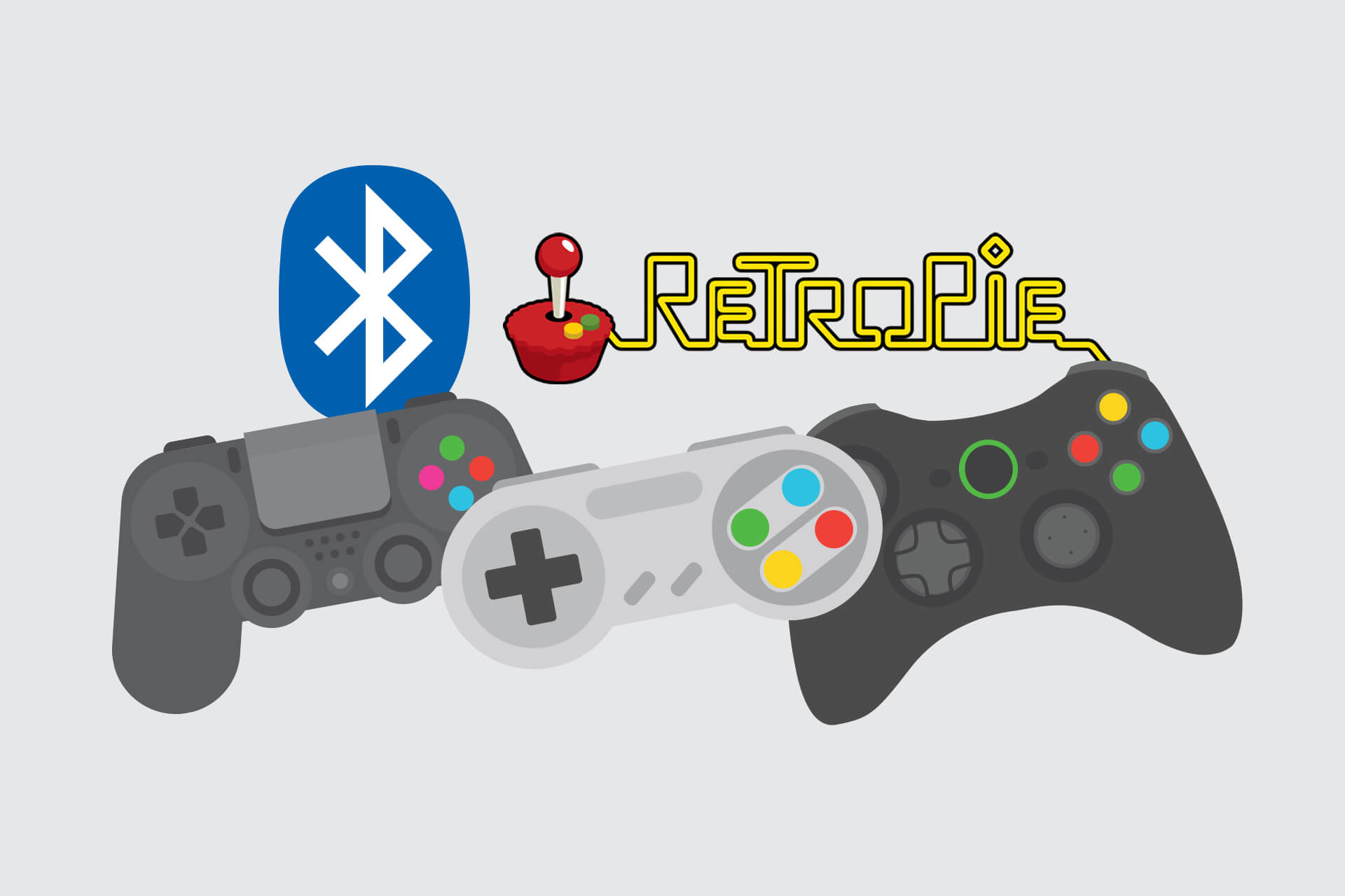 Connecting Bluetooth controllers to RetroPie | Dave McLean