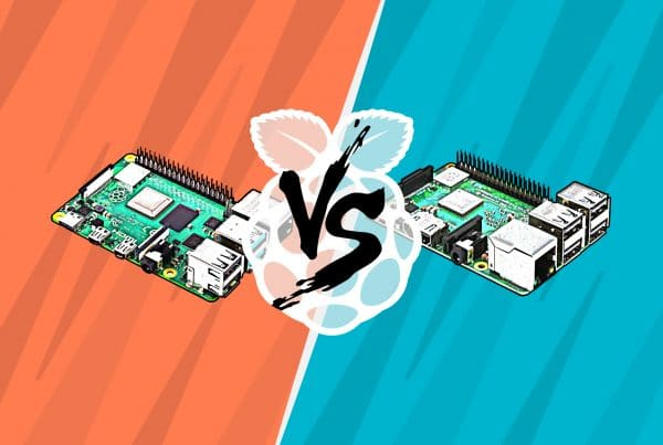 Comparing Raspberry Pi 4 with Raspberry Pi 3 B+